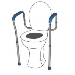 Cadru sprijin pentru vasul WC