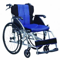Scaun cu rotile cadru din aluminiu