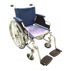 Scaun cu rotile cu suporti mobili